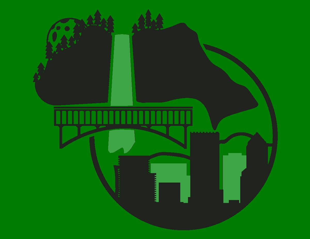 Graphic home states oregon